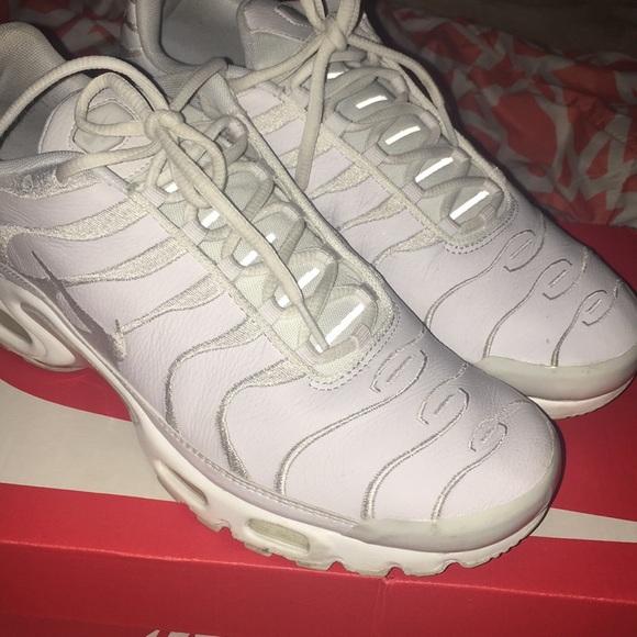 Nike Shoes | Nike Air Max Tn All White